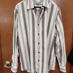 TOMMY BAHAMA MEN'S BUTTON DOWN SHIRT